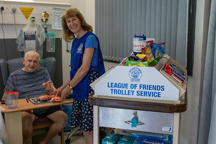 League of Friends Trolley Service